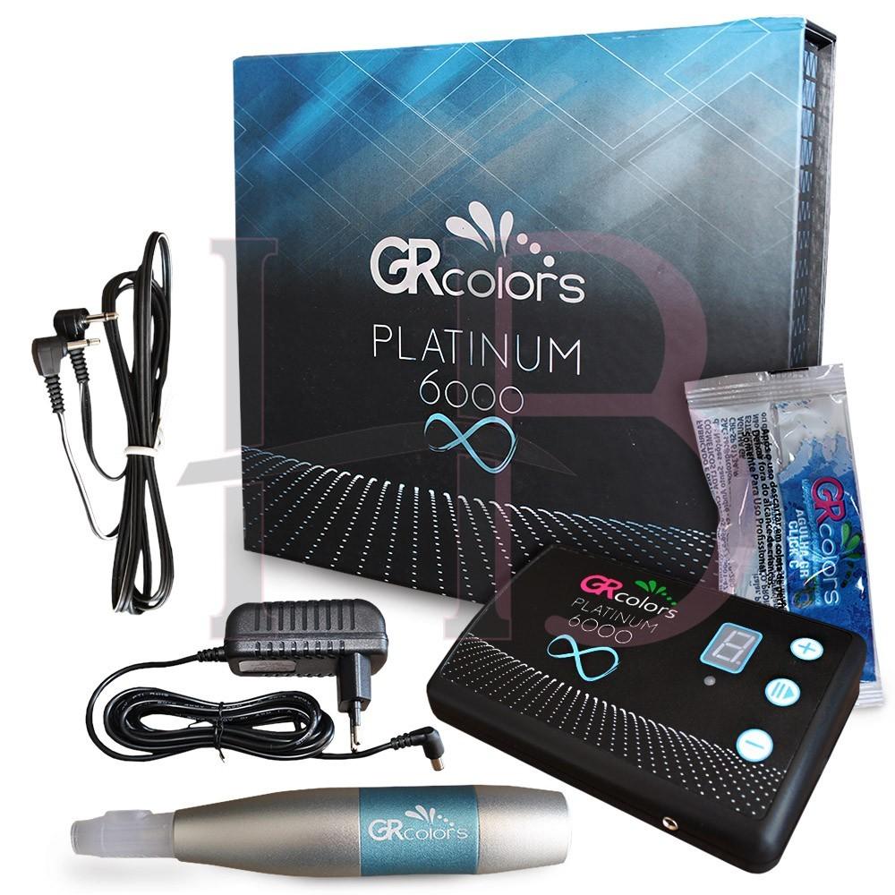 Dermógrafo Platinum 6000 Gr Colors