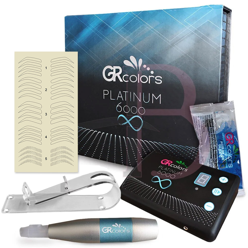 Dermógrafo Platinum 6000 Gr Colors + Brindes