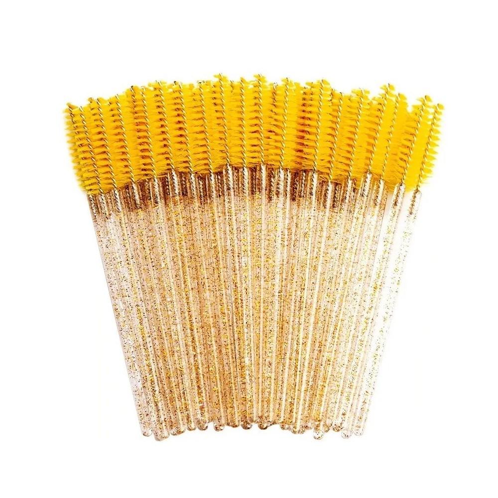 Escovinhas Descartáveis com Glitter - 50 un