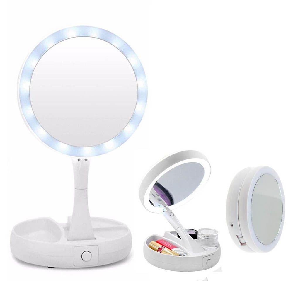 Espelho Dobrável com LED My Fold