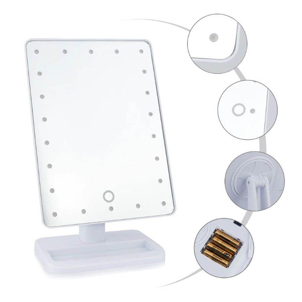 Espelho Retangular com LED