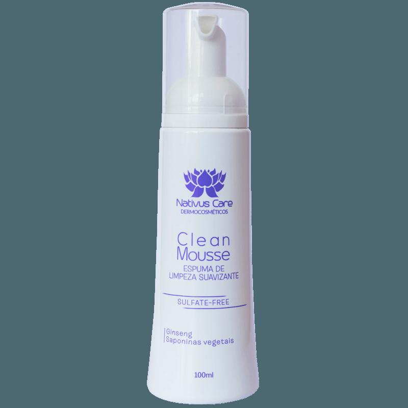 Nativus Care Clean Mousse Espuma de Limpeza 100ml