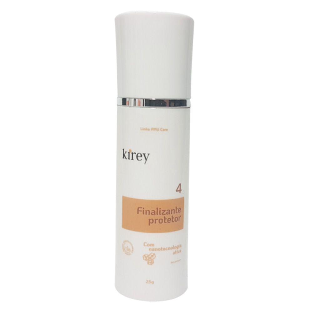 Finalizante Protetor Kirey 25 g - Passo 4