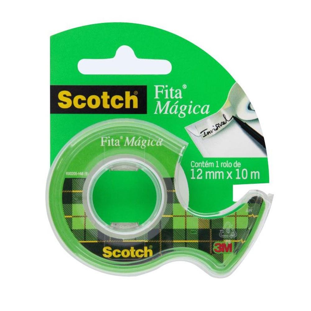 Fita Mágica Scotch 3M - 12 mm x 10 m