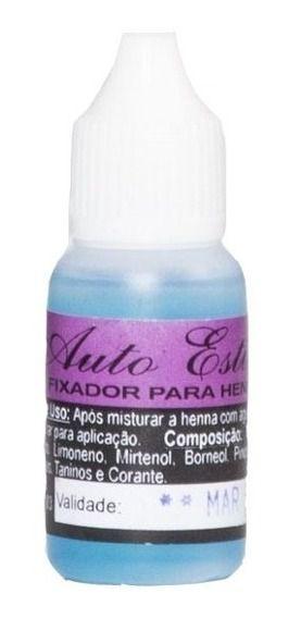 Fixador de Henna Auto Estima - 15 ml