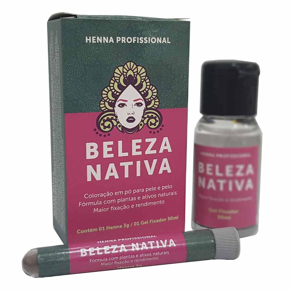 Henna Beleza Nativa + Fixador 30 ml