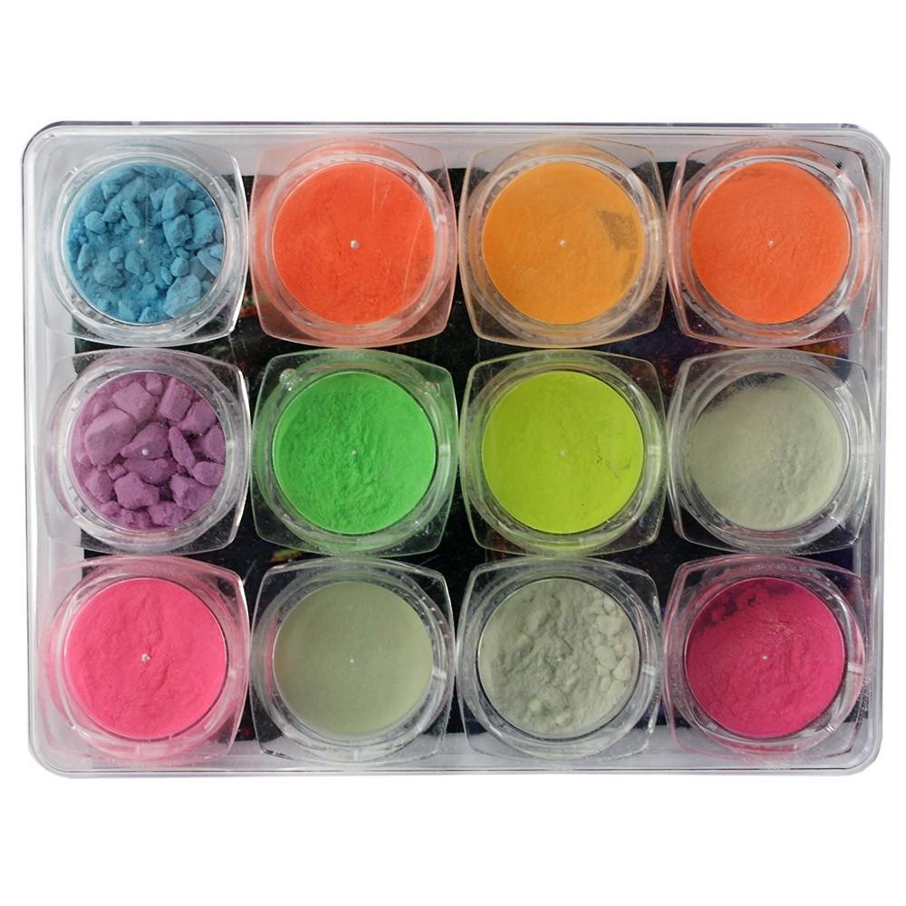 Kit 12 Pó de Pigmentação
