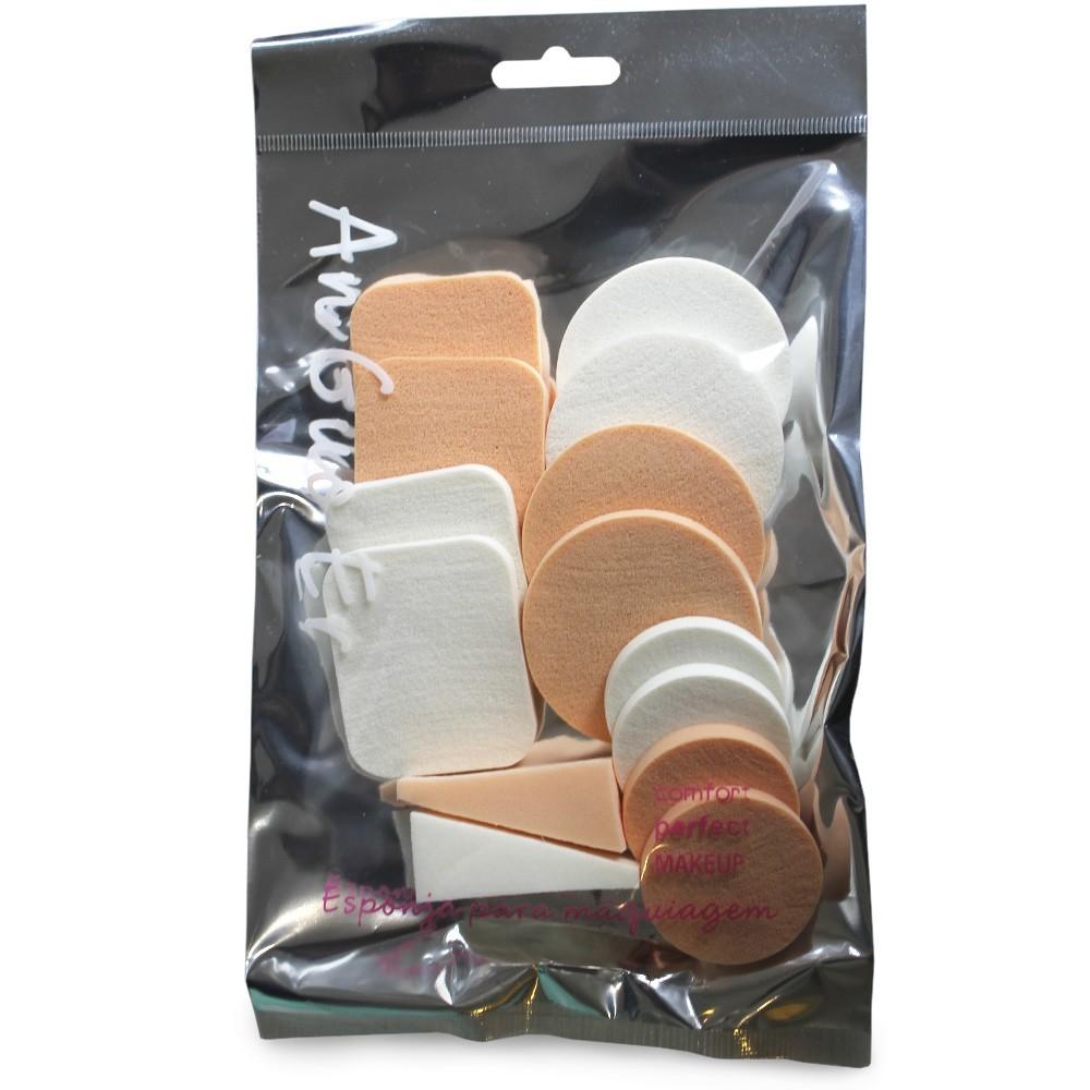 Kit 14 Esponjas de Maquiagem / Treinamento