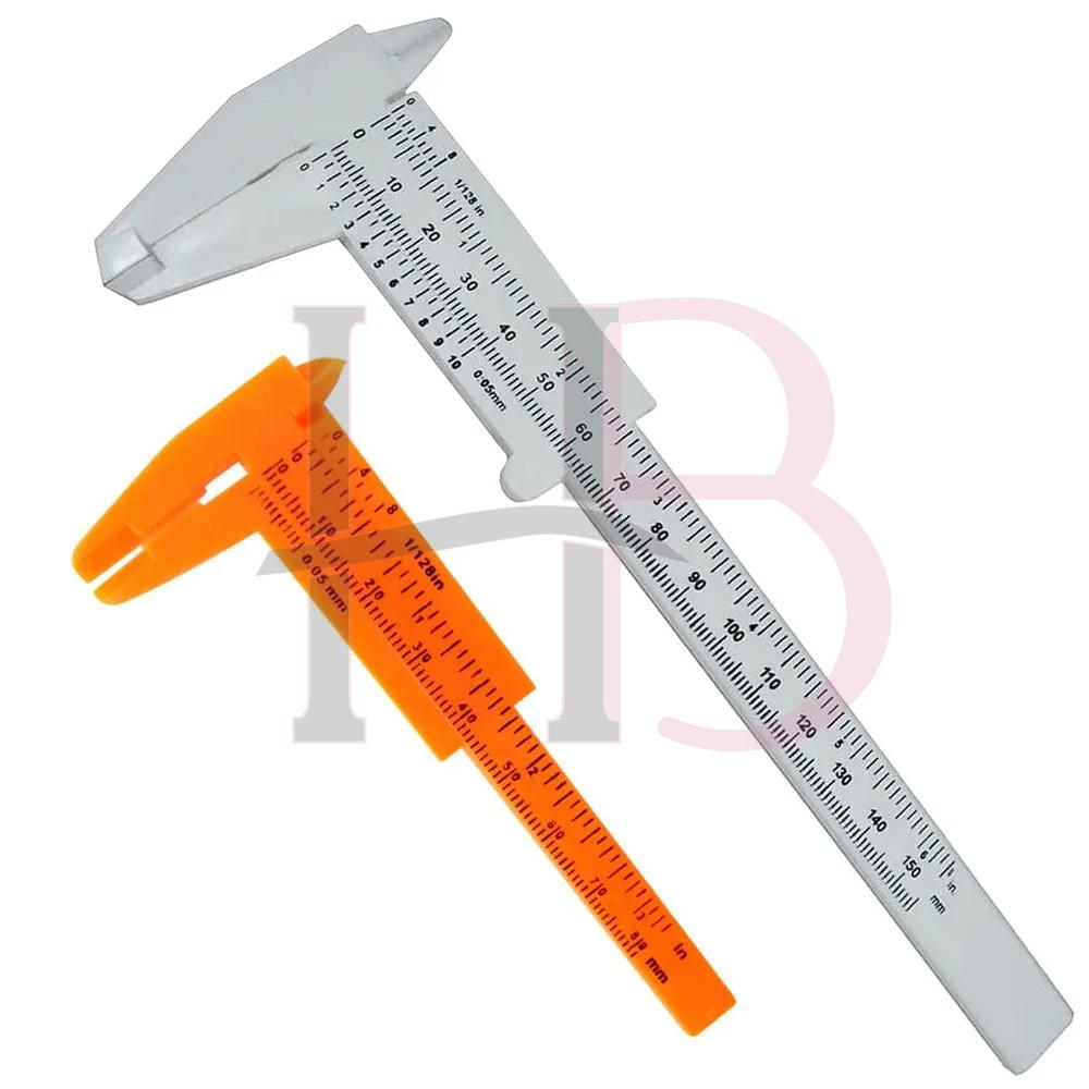 Kit 2 Paquímetros com 15 cm e 8 cm