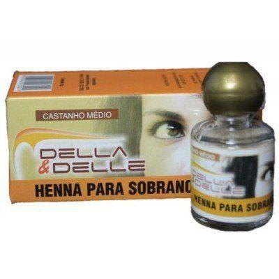 Kit 3 Hennas Della & Delle 8g
