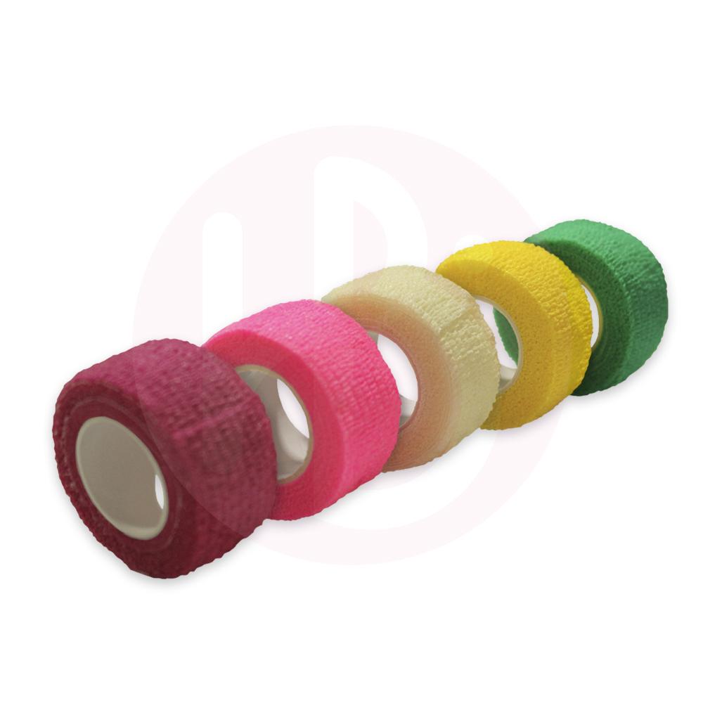 Kit 5 Bandagens Coloridas 2,5 cm