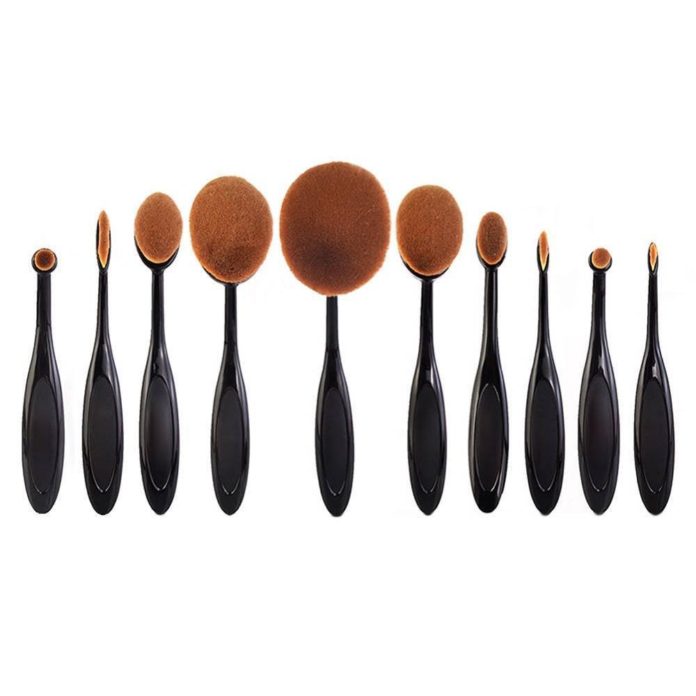 Kit Pincel de Maquiagem Multipurpose c/ 10
