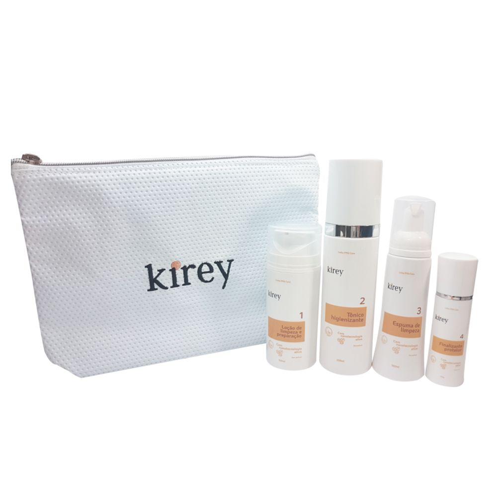 Kit Profissional Kirey PMU Care (4 produtos) + Necessaire