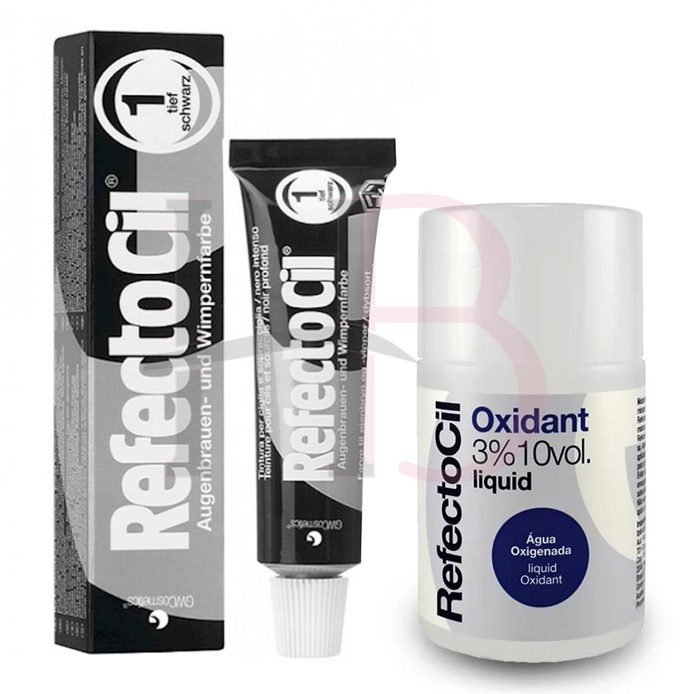 Kit Refectocil c/ Ox - Preto nº 1