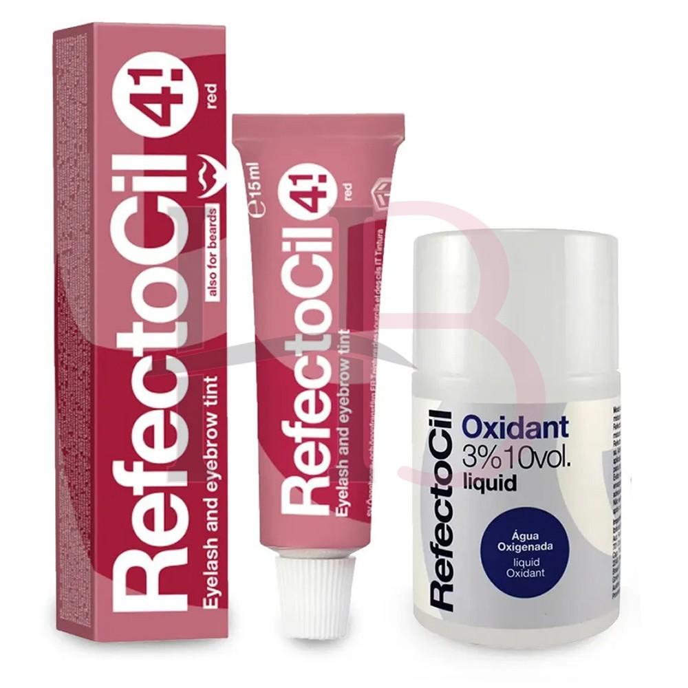 Kit Refectocil c/ Ox  - Vermelho 4.1