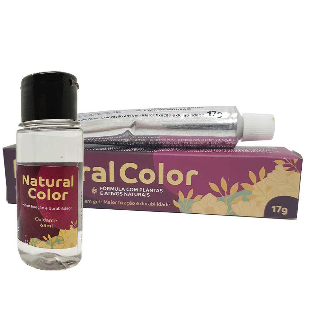 Kit Tintura de Sobrancelhas Natural Color + Ox - Chocolate