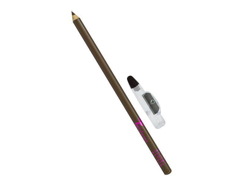 Lápis para Olhos com Apontador Bela Femme - Marrom