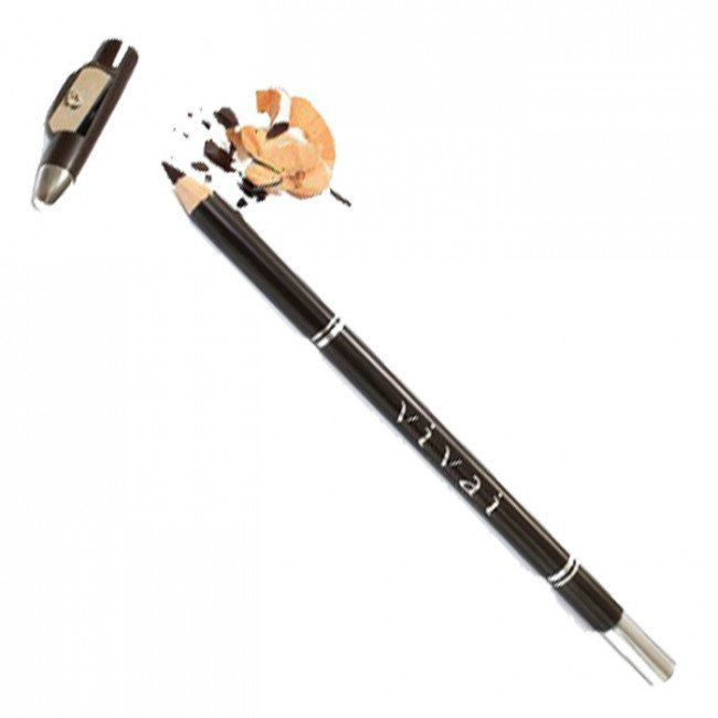 Lápis Para Olho com Apontador Vivai - Marrom