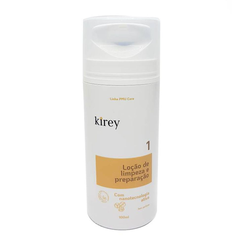 Loção de Limpeza e Preparação Kirey - Passo 1