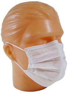 Máscara Branca Descartável Protdesc c/ 50