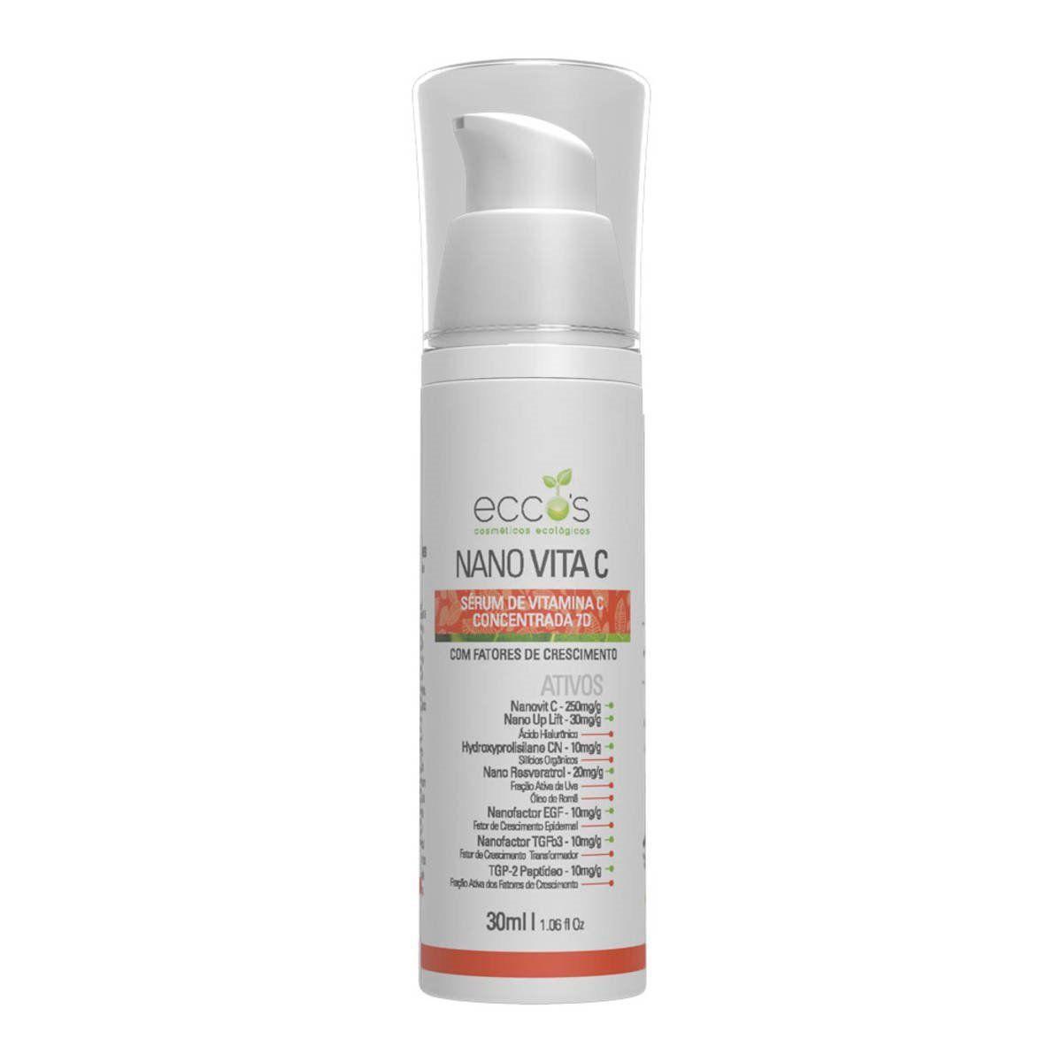 Nano Vita C Serum Concentrado de Vitamina C Eccos 30 ml