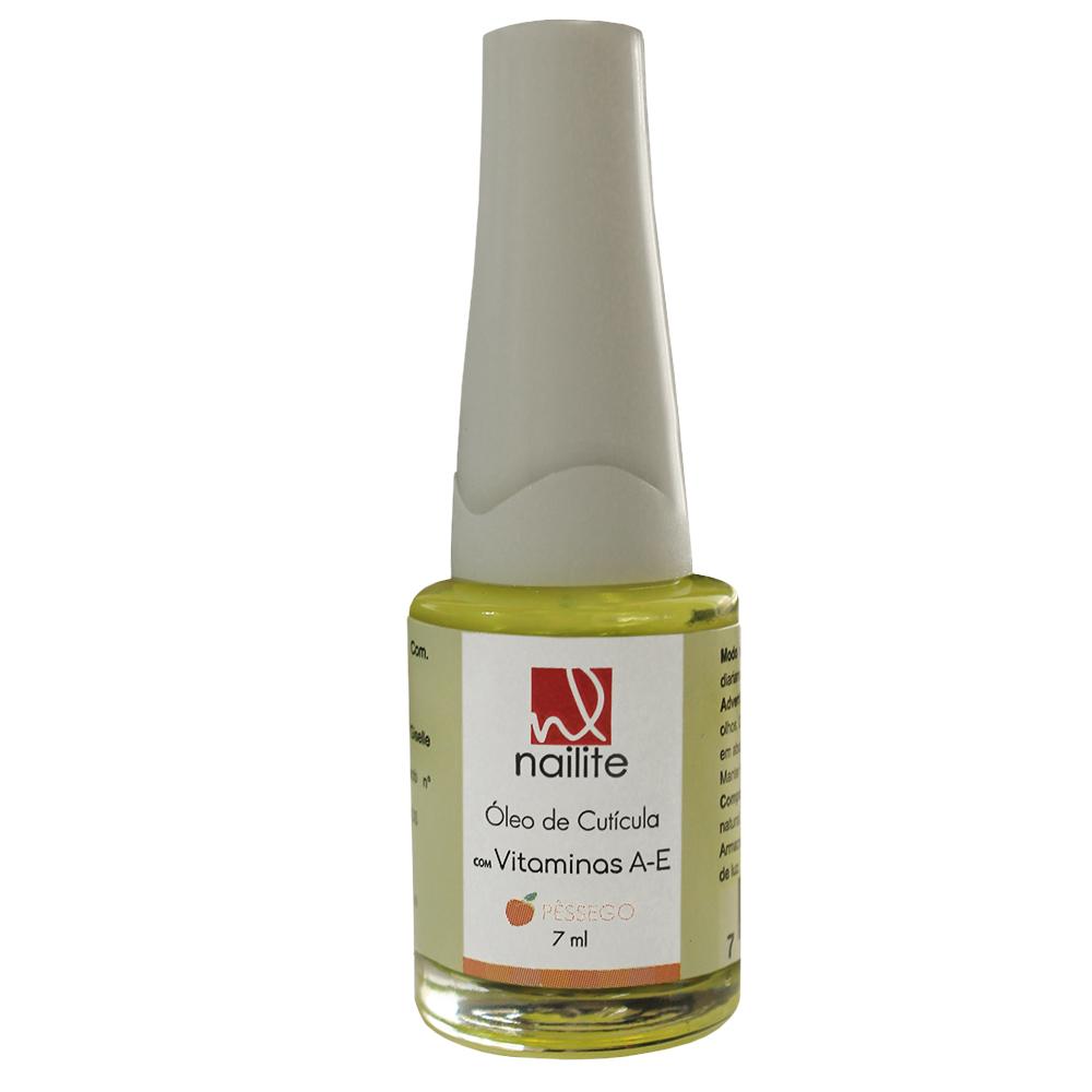 Óleo para Cutícula Pêssego Nailite 7 ml