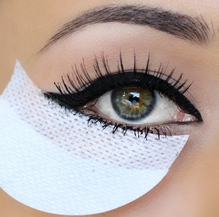 Protetor de Olhos para Maquiagem Shadow Shields - 60 Pares