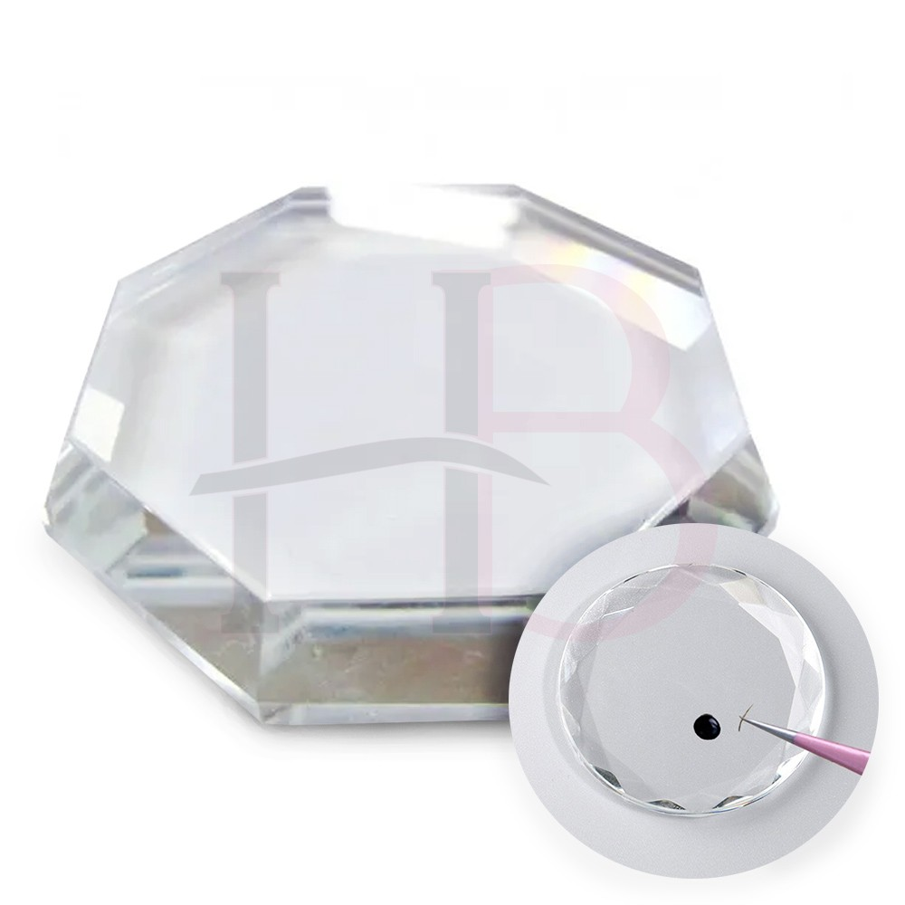 Pedra Cristal para Cola G - 7 cm
