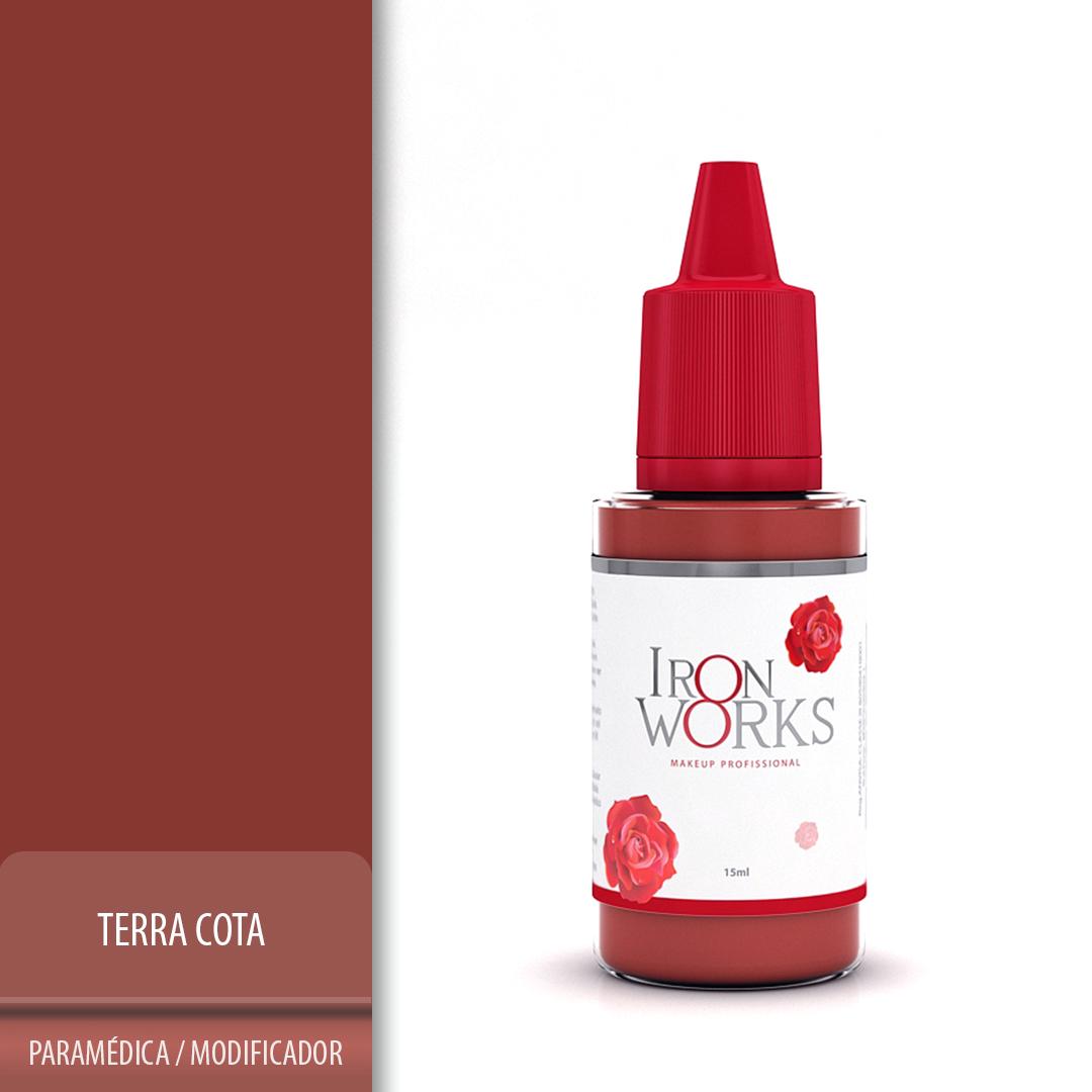 Pigmento Iron Works Terra Cota - Validade 01/06/22