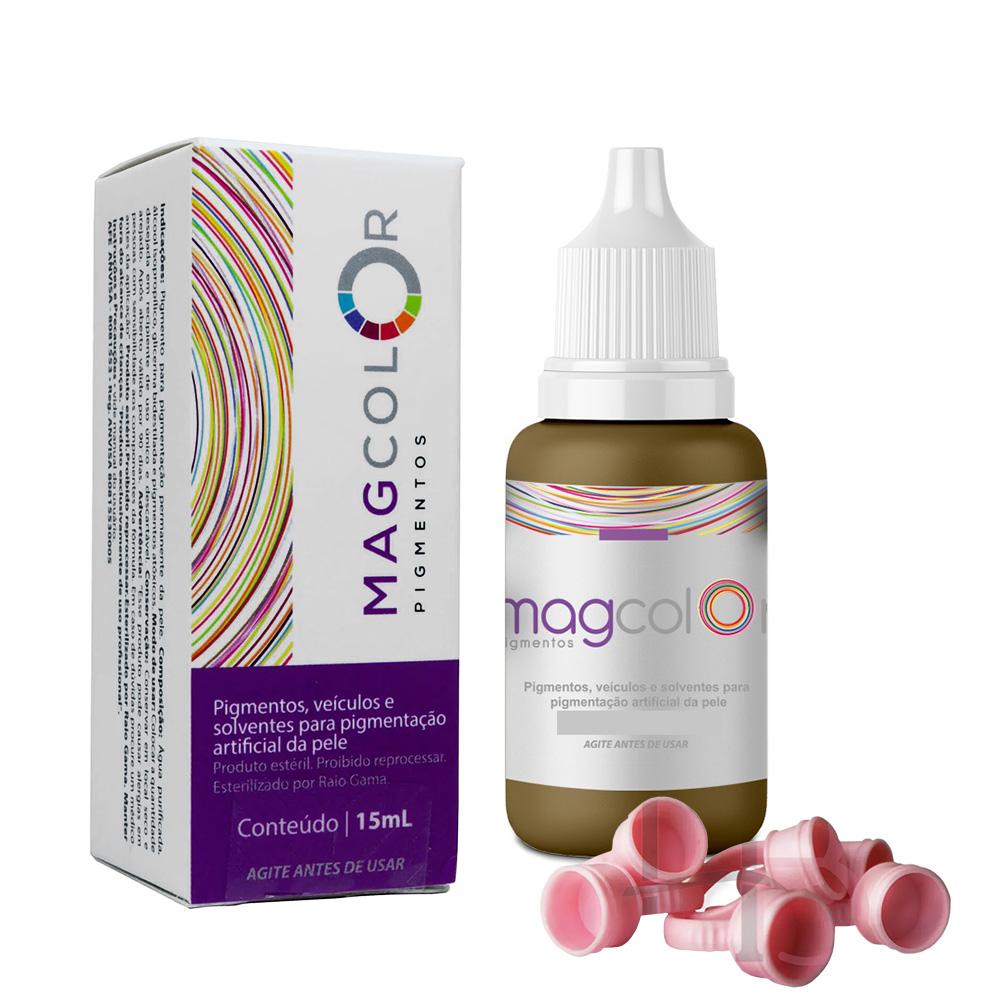 Pigmento Mag Color Castanho Claro - 15 ml
