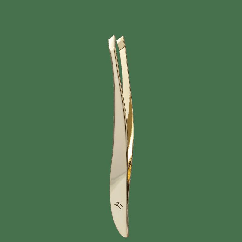 Pinça Klass Vough Dourada Diagonal TW-1077G