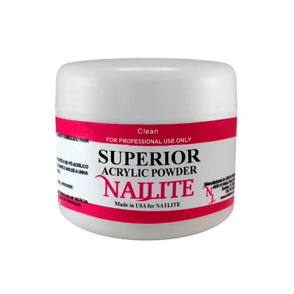 Pó Acrílico Clear Nailite - 15g