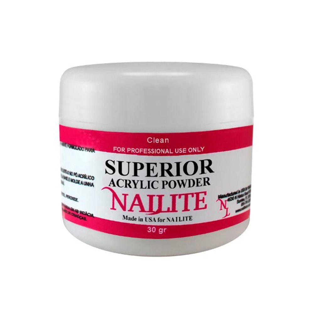 Pó Acrílico Clear Nailite - 30g