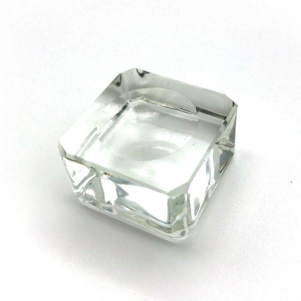 Porta Cola em Vidro Cristal