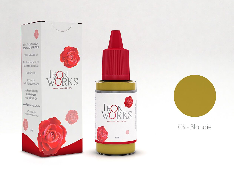 Promoção Pigmento Iron Works Blondie - Validade 08/2020