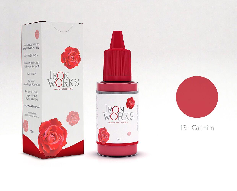 Promoção Pigmento Iron Works Carmim - Validade 07/2020