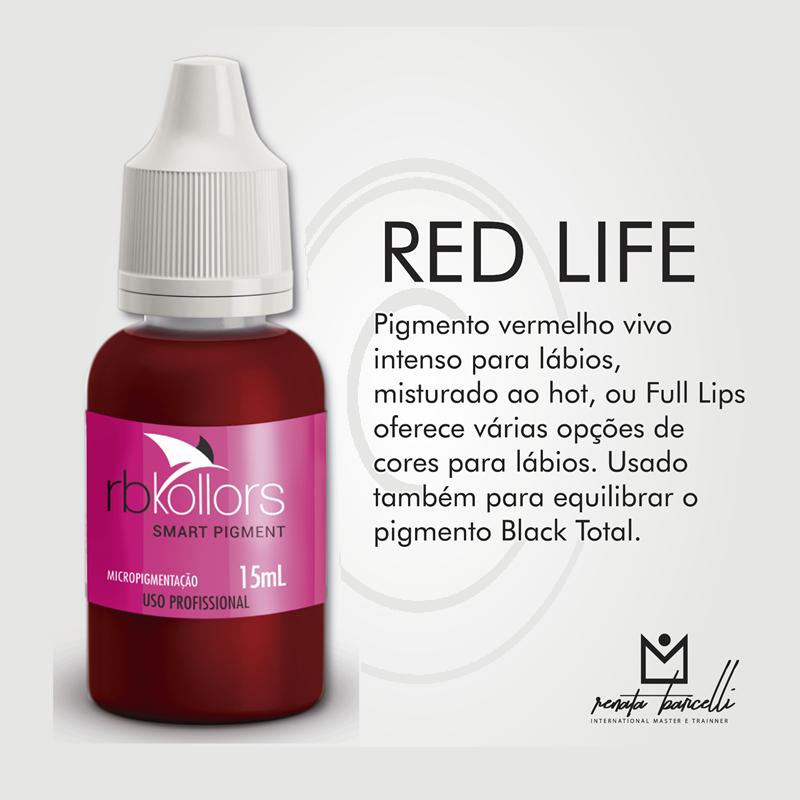 Promoção Pigmento RB Kollors Red Life - Validade 10/2020