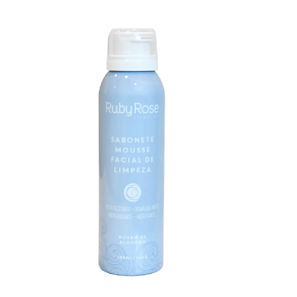 Sabonete Mousse Nuvem de algodão Ruby Rose 150 ml HB-320