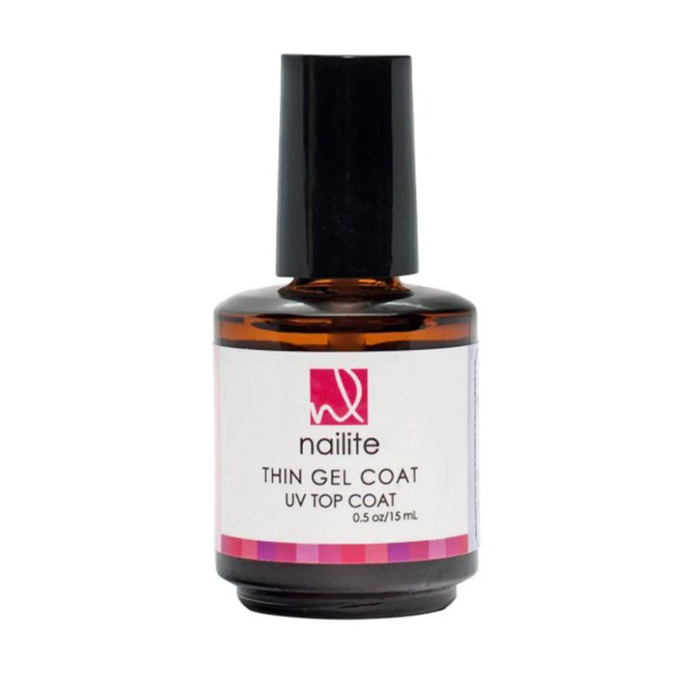 Thin Gel Coat Top Coat Sem Cabine Nailite - 15 ml