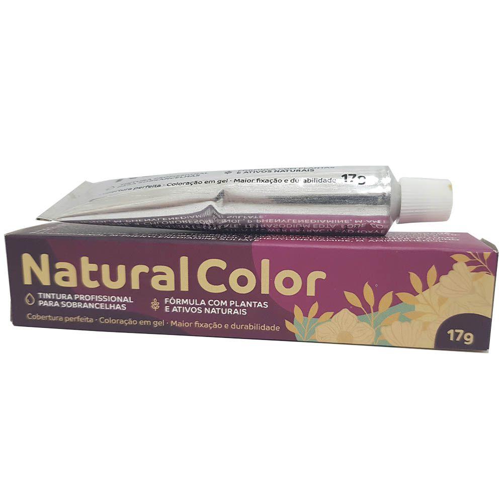 Tintura Natural Color para Cílios e Sobrancelhas