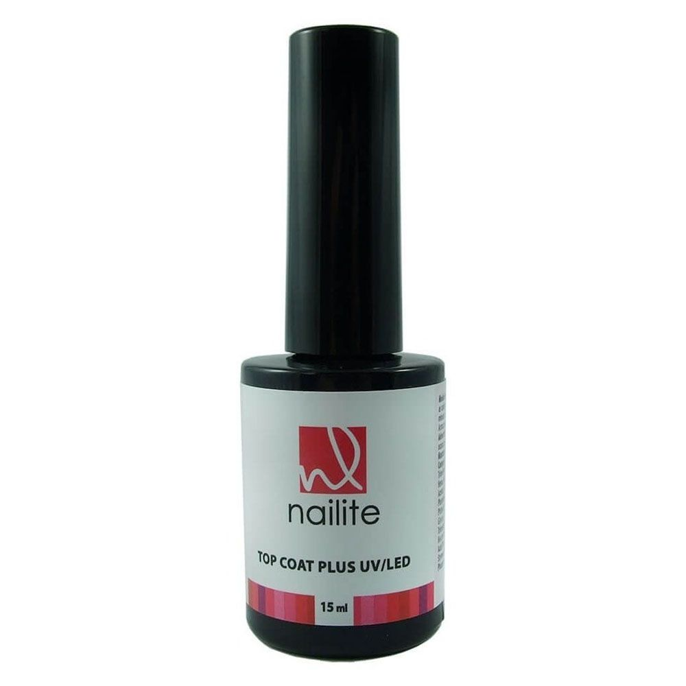 Top Coat Plus UV/Led Nailite - 15 ml