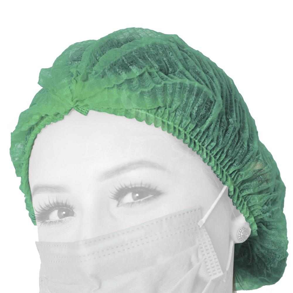 Touca Verde Protdesc com 100