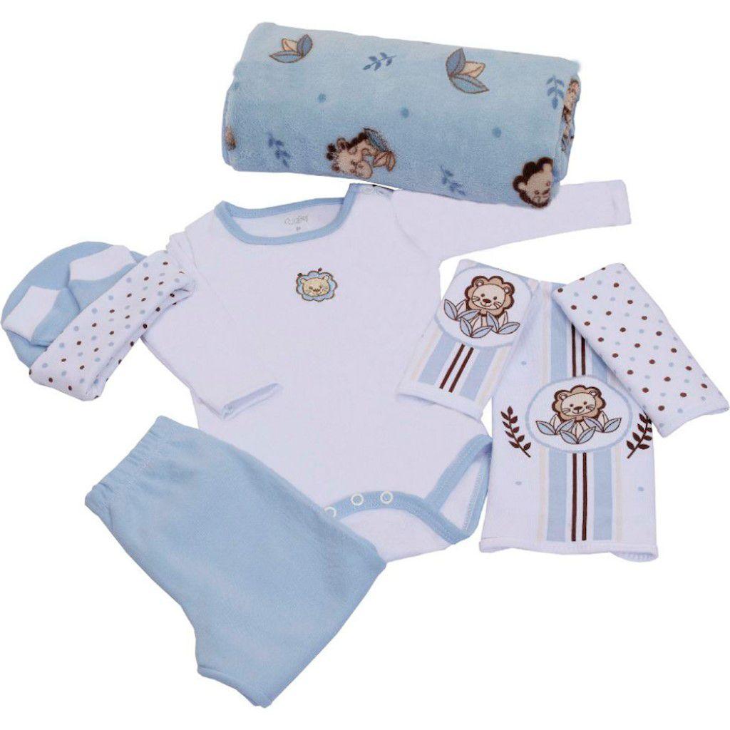 Baby Kit Azul Leaozinho Colibri