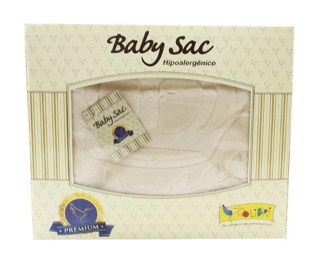 Baby Sac Colibri Premium Relevo Unique Bege