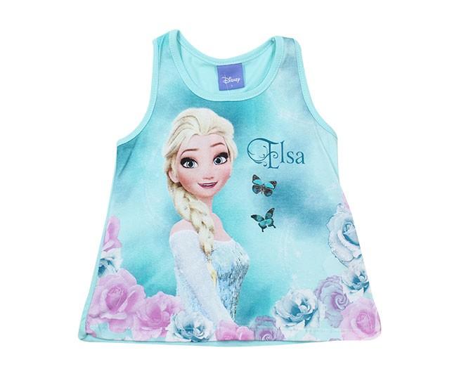 Blusa Feminina Elsa Frozen Disney