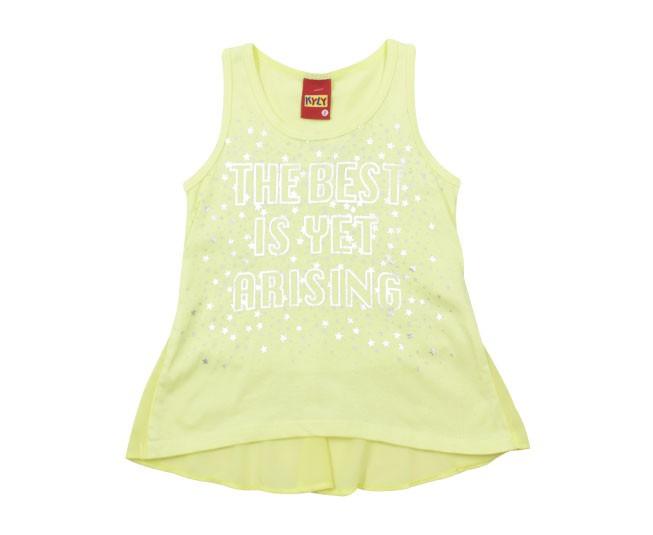 Blusa Feminina Estampada Amarela Kyly