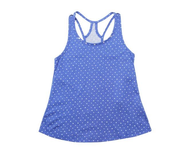Blusa Feminina Estampada Azul Kyly
