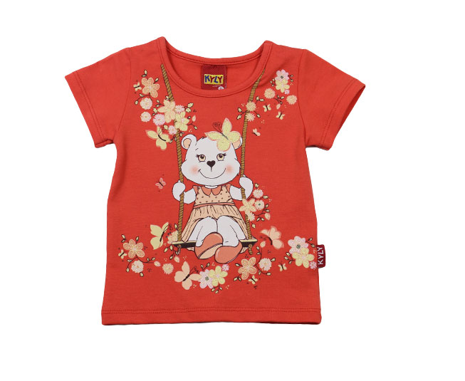 Camiseta Feminina de Ursinho Kyly