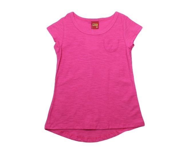 Blusa Rosa Básica Lisa Kyly 5156c1e0f7a