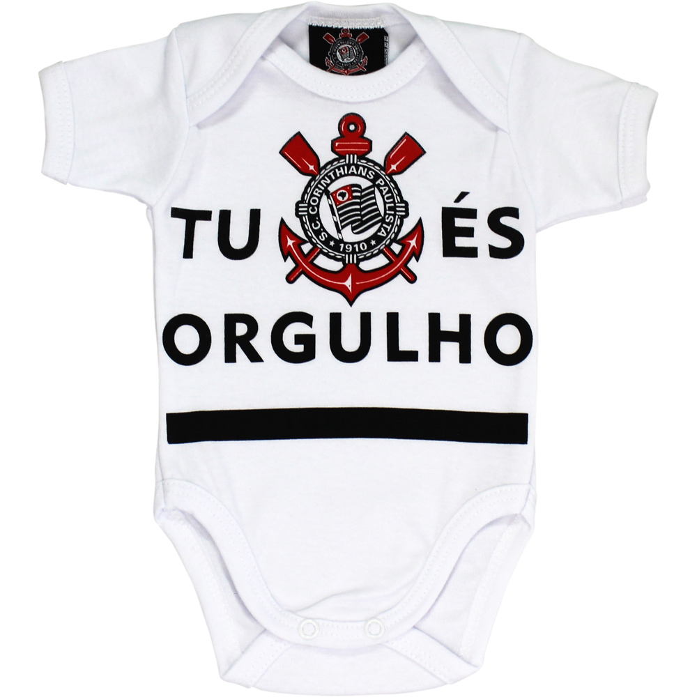 Body Corinthians Bebê Tu És Orgulho